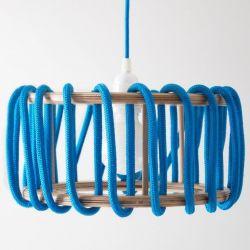 Pendelleuchte Macaron | Blau