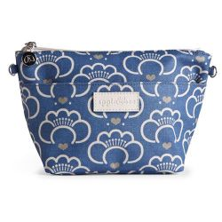 Medium Make-up Tas Lotus Blue