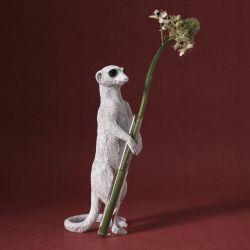 Vase Erdmännchen Stehend 01