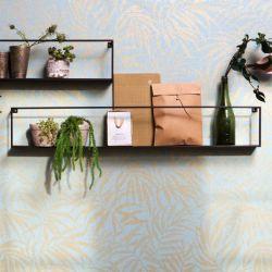 Wall Shelf Meert 100 cm | Zwart