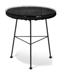 Table d'Appoint Acapulco | Noir