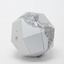 Metal Sectional Globe