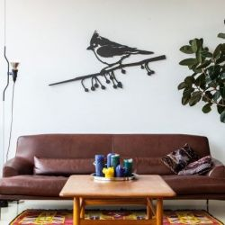 XXL Wallpiece | Crested tit