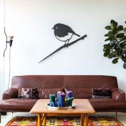 XXL Wallpiece | Robin