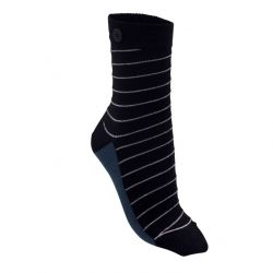 Metallic Swirl Women Socks | Schwarz