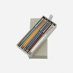 Set of 5 Pens black ink | Multicolour