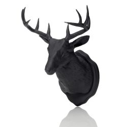 Magnet & Wall Hook Taxidermy | Black