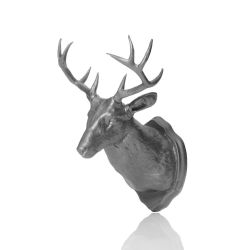 Magnet & Wall Hook Taxidermy | Silver