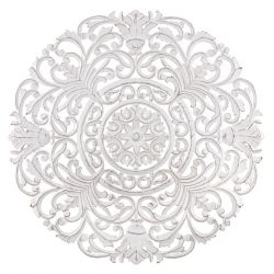 Wand-Medaillon Frasso | Weiß