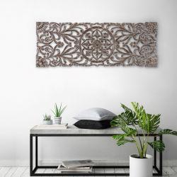 Wand-Medaillon Malito | Grau
