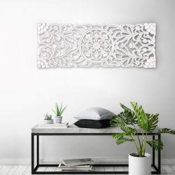 Wand-Medaillon Malito | Weiß