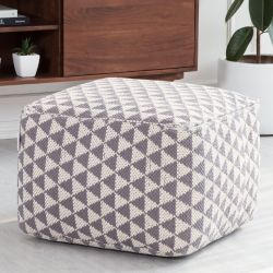 Pouf Beziers Triangles