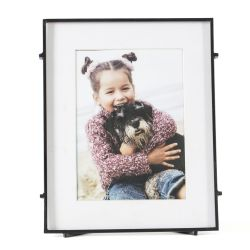 Square Photo Frame Barin 57 | Black