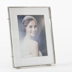 Quadratischer Fotorahmen Barin 57 | Silber