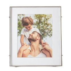 Square Photo Frame Barin 80 | Silver