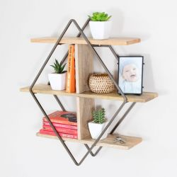 Wall Shelf Tignes | Bronze