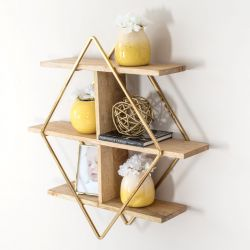 Wall Shelf  Tignes | Gold