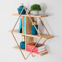 Wall Shelf Tignes | Rose Gold