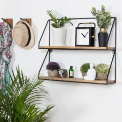 Wall Shelf Lugo | Black