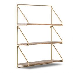 Wall Shelf Leon | Gold