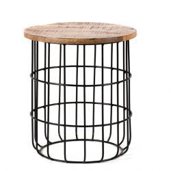 Table d'Appoint Auxon Cage