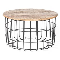 Table Basse Auxon Cage