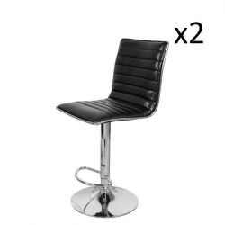 Bar Stool Midnight 600 | Black - Set of 2