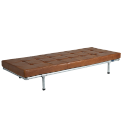 Leather Daybed Milan | Cognac