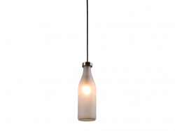 Pendant Light Milk Bottle