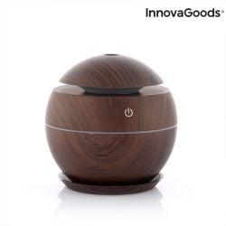 Mini Humidifier Aroma Diffuser | Dark Walnut
