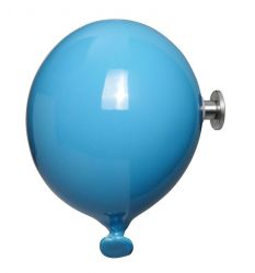 Mini Balloon Coat Hook | Turquoise