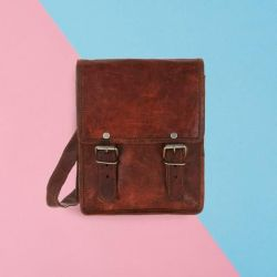 Leather Bag Mini Long