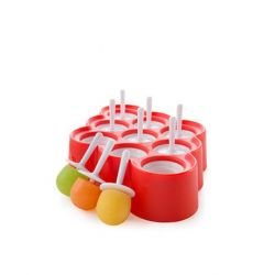 Mini Ice Pop Maker with 9 Sticks