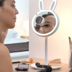 Miroir de Maquillage LED 2 en 1 Mirrobbit