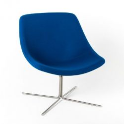 Mishell Armchair | Cross Base
