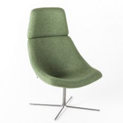 Mishell Armchair XL | Cross Base