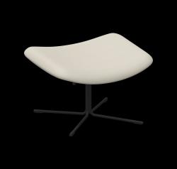 Footstool XL Mishell Crossed Leg | Beige