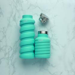 Zusammenklappbare Wasserflasche | Misty Mint