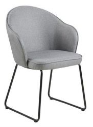 Chair Mazz | Set of 2 | Light Grey