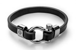 Men Bracelet MM10826SB 60 mm | Black