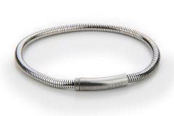 Herrenarmband Edelstahl | Silber