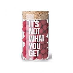X-Mas Glass Jar | It's Not What You Get