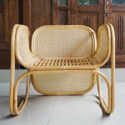 Outdoor Rattan Armchair Zorba | Honey