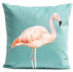 Pillow Cover | Pink Flamingo