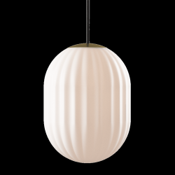 Pendant Lamp Bright Modeco + | Brass & Black Cord