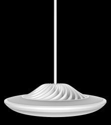Smarte Hängeleuchte Model F | Weiß