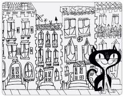 Kidzbox Een kat in de stad