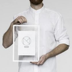 Bilderrahmen A4 | Weiß