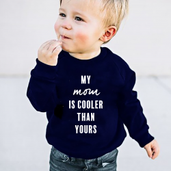Kids Sweater My Mom | Blauw