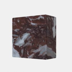 Magnetic Marble Cube MONOLYTH | Rouge Royal